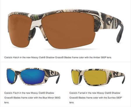 568eefada81f Costa Expands Camouflage Line, Introduces New Mossy Oak® Shadow Grass®  Blades™ Sunglasses