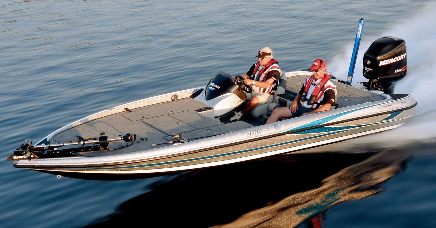 Bass pro purchases ranger stratos triton boats for Bass pro fishing boats