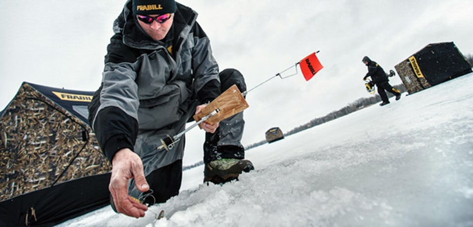 Southwick frabill tops on ice for Frabill ice fishing suit