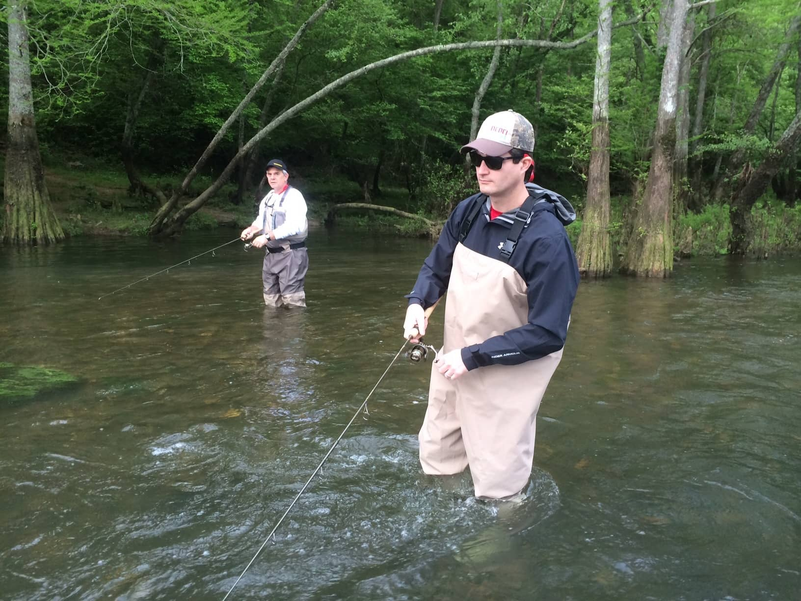 Q a at 30k bruce stanton pradco for Broken bow fishing