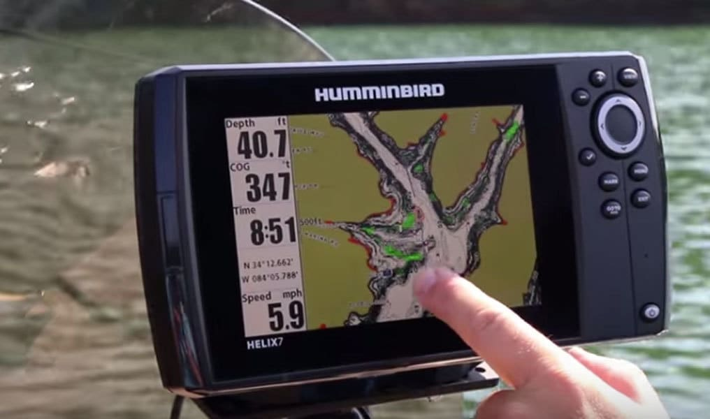 meet the new, jaw-dropping humminbird helix 7 - fishing tackle, Fish Finder