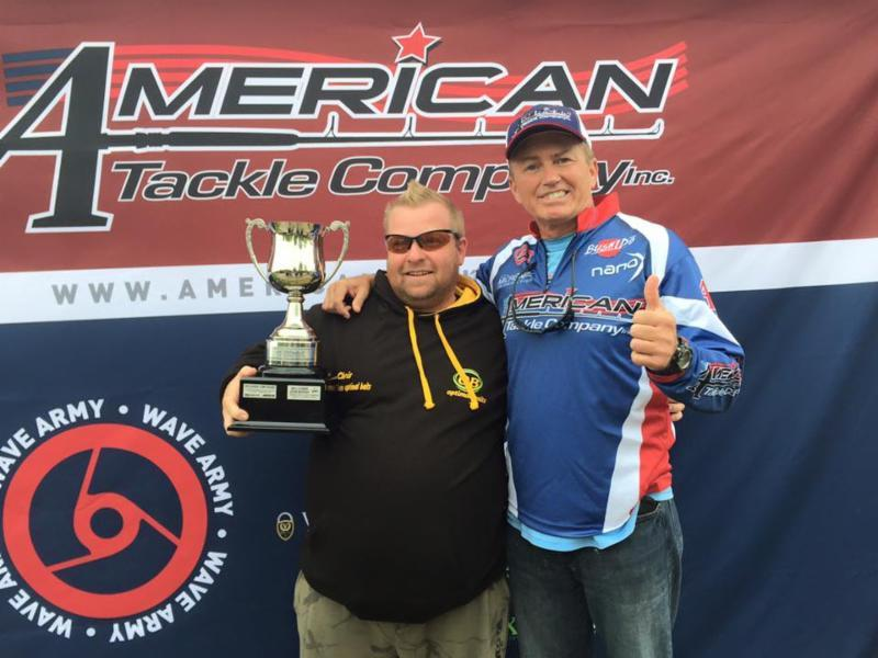 American tackle company crowns microwave castoff champion for American fishing tackle company