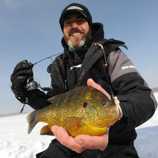 Of innovation and ice fishing for New ice fishing gear 2017